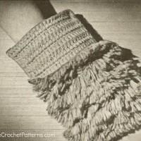 Dust Mitt ~ Antique Crochet Patterns