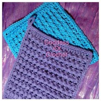 Thick and Bumpy Potholder ~ Goddess Crochet