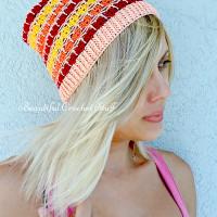 Crochet Summer Beanie ~ Jane Green – Beautiful Crochet Stuff