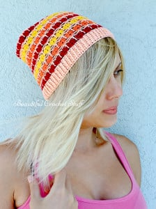 Crochet Summer Beanie ~ Jane Green - Beautiful Crochet Stuff