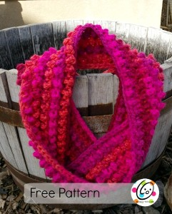 Jelly Bean Infinity Scarf ~ Snappy Tots