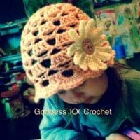 Little Lady Hat ~ Goddess Crochet