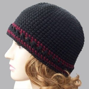 Single Crochet Beanie ~ Rhelena - CrochetN'Crafts