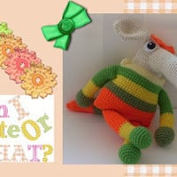 Sniffy the Anteater Girl ~ Craftybegonia's Funmigurumi and Kids' Stuff