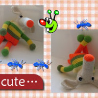 Snorty the Anteater ~ Craftybegonia's Funmigurumi and Kids' Stuff