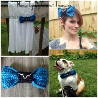 Spacey Wacey Bow ~ Manda Proell - MandaLynn's Crochet Treasures