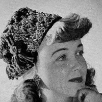 Tassel Beaded Hat ~ Free Vintage Crochet
