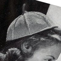 Single Crochet Calot ~ Free Vintage Crochet