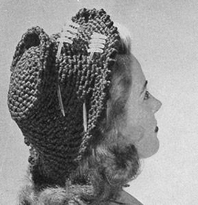 Tailored Suit Hat ~ Free Vintage Crochet