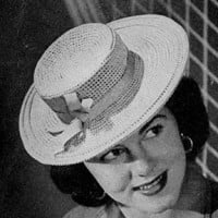 Sailor Hat ~ Free Vintage Crochet