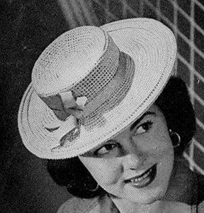 Sailor Hat ~ Free Vintage Crochet
