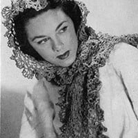 Lovers Knot Shawl ~ Free Vintage Crochet