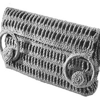 Trellis Bag ~ Free Vintage Crochet