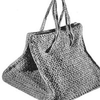 Square Bag ~ Free Vintage Crochet