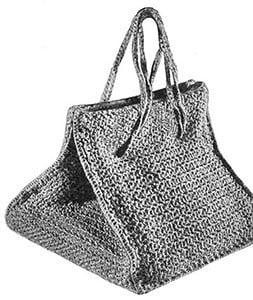 Square Bag ~ Free Vintage Crochet