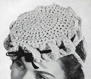 Pill Box Hat ~ Free Vintage Crochet