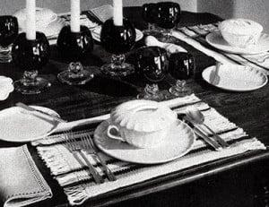 Peasant Table Mats ~ Free Vintage Crochet