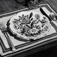 Italian Table Mats ~ Free Vintage Crochet