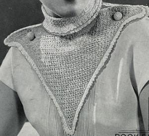 West Point Collar ~ Free Vintage Crochet