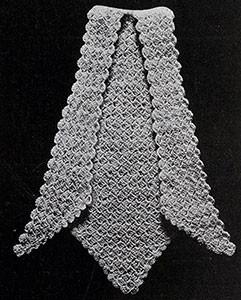 Jabot ~ Free Vintage Crochet