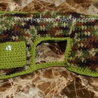 Travel Pillow with Ear Bud Pocket ~ Sara Sach - Posh Pooch Designs