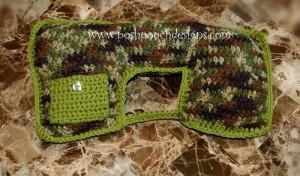 Travel Pillow with Ear Bud Pocket ~ Sara Sach - Posh Pooch Designs