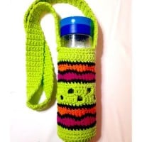 Making Waves Water Bottle Holder ~ Goddess Crochet