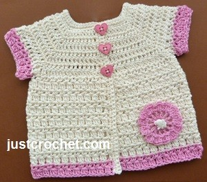 Cotton Coat ~ JustCrochet
