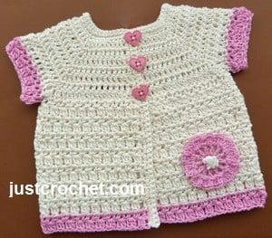 Cotton Coat ~ JustCrochet