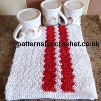 Cotton Tea Towel ~ Patterns For Crochet