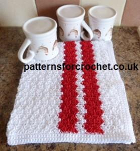 Cotton Tea Towel ~ Patterns For Crochet