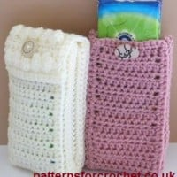 Pocket Pack Tissue Cover ~ Patterns For Crochet