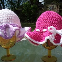 Toddler Sun Hat ~ Stitch11