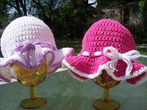 Toddler Sun Hat ~ Stitch11