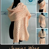 Sequins Wrap ~ Maz Kwok's Designs
