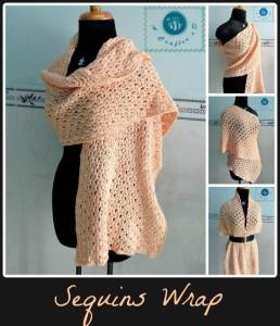 Sequins Wrap ~ Maz Kwok's Designs