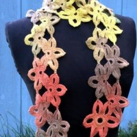 Starflower Scarf ~ ABC Knitting Patterns