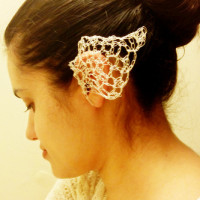 Faerie Ears ~ Crochet Kitten