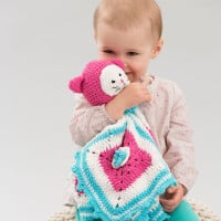 Kitty Love Blankie ~ Michele Wilcox – Red Heart