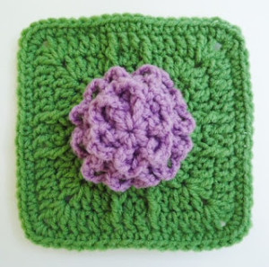 "Baby Bloom 6"" Square ~ DragonFlyMomof2 Designs"