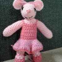 Ballerina Mouse ~ Crochet Fanatic