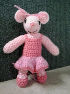 Ballerina Mouse ~ Crochet Fanatic