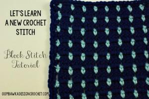 Block Stitch ~ Oombawka Design