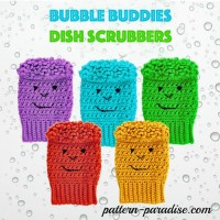 Dish Bubble Buddies ~ Pattern Paradise