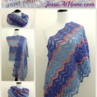 Christina Crochet Wrap ~ Jessie At Home