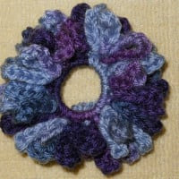 Chrysanthemum Scrunchie ~ Suzies Stuff