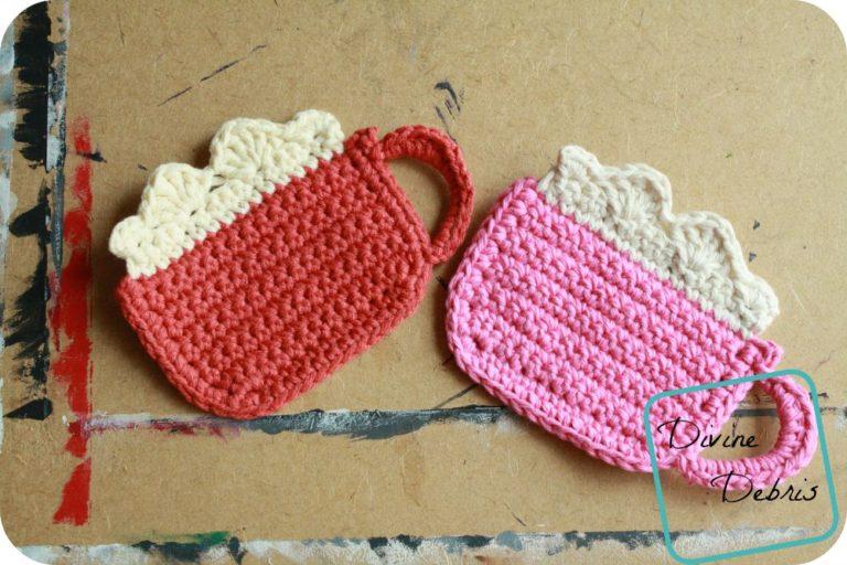 Free Crochet Mug Coaster Pattern : Cocoa Coaster ~ FREE Crochet Pattern