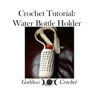 Mesh Water Bottle Holder Video Tutorial ~ Goddess Crochet