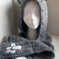 Cuddly Cat Crochet Scoodie ~ Moogly