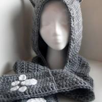 Cuddly Cat Crochet Scoodie ~ Moogly
